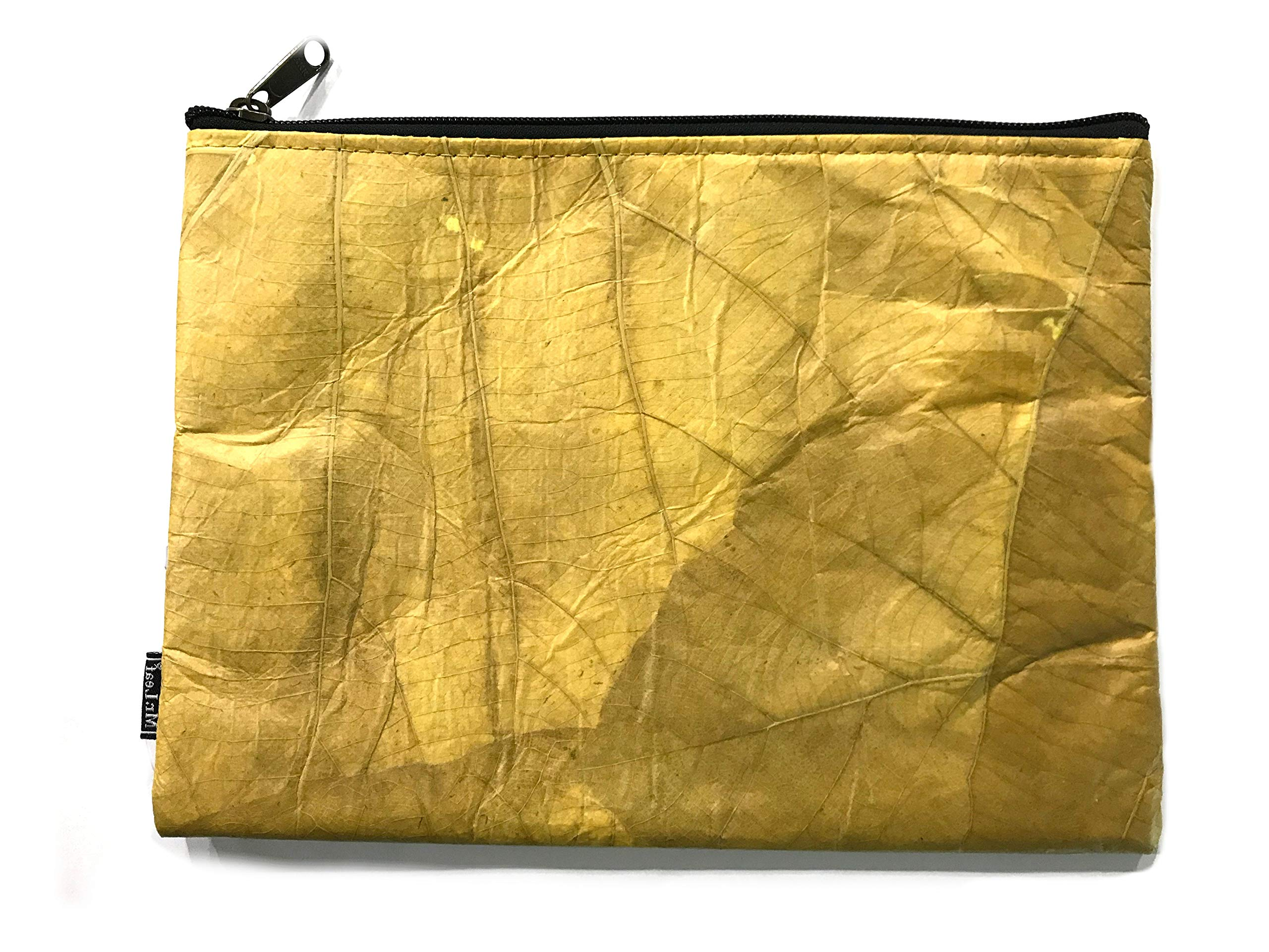 Leaves of Nature Document Bag Money Bag Water Resistant Envelope Pouch for Cash Passport Jewelry and Valuables