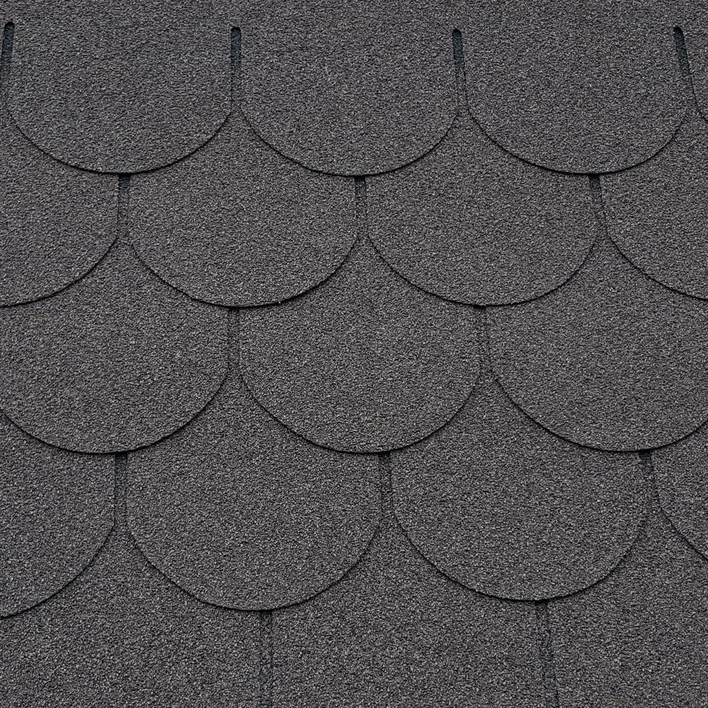 Roofing Felt Shingles | Shed Roof Felt | Fishscale | 5 Tab | FREE Adhesive | Antique Red Supaflex
