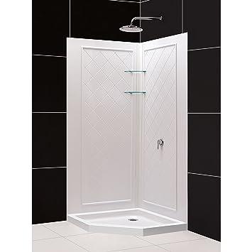 DreamLine DL 6047C 01 SlimLine 42u0026quot; X 42u0026quot; Neo Angle Shower