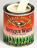 General Finishes QAW Milk Paint, 1 quart, Antique White