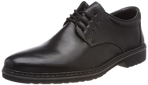 B0812 - Zapatos de cordones de cuero para hombre Rieker Y9ArA72G