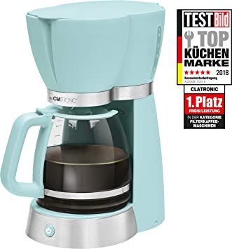 Clatronic Coffee Machine Ka 3689 Mint Fassungsvermogen Amazon Co Uk
