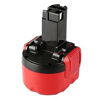 AKKU für Bosch 9,6V 3000mAh Ni-MH ersetzt 2607335540 2607335529