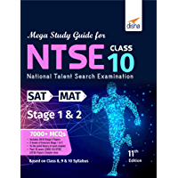 MEGA Study Guide for NTSE (SAT, MAT & LCT) Class 10 Stage 1 & 2 - 11th Edition