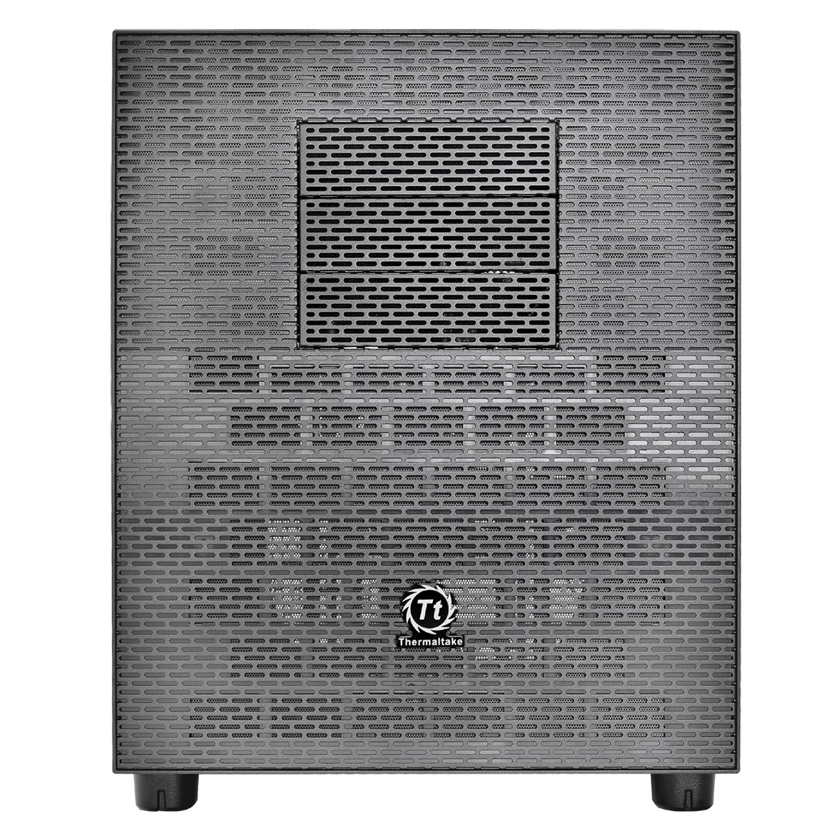 Thermaltake Core X5 - Caja de Ordenador (Cubo, PC, SGCC, ATX, EATX, Micro-ATX, Mini-ITX, Negro, Fondo): Amazon.es: Informática