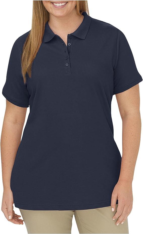 Dickies Women's Plus-Size Polo Shirt