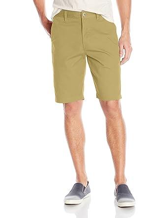 Volcom Menu0027s Shorts 28 Taille U003d FR 36 Beige Beige (Dark Khaki) Size: