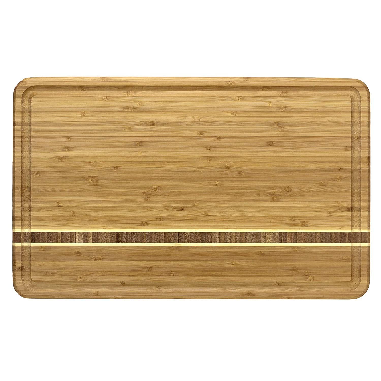 Totally Bamboo 20-1840 Cutting Board, Dominica 20 x 12/5-inch