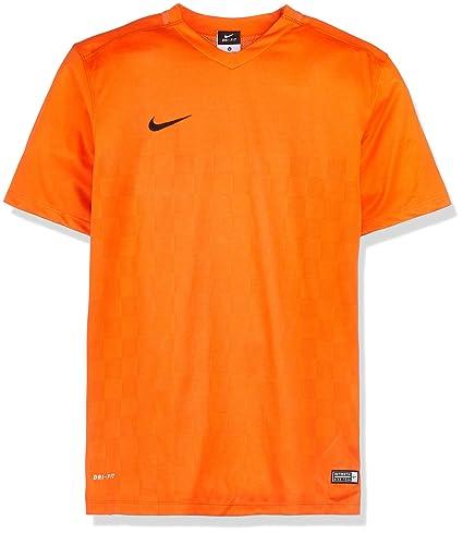Nike Short Sleeve Top Energy III Jersey Camiseta, Hombre, Naranja/Negro (Safety