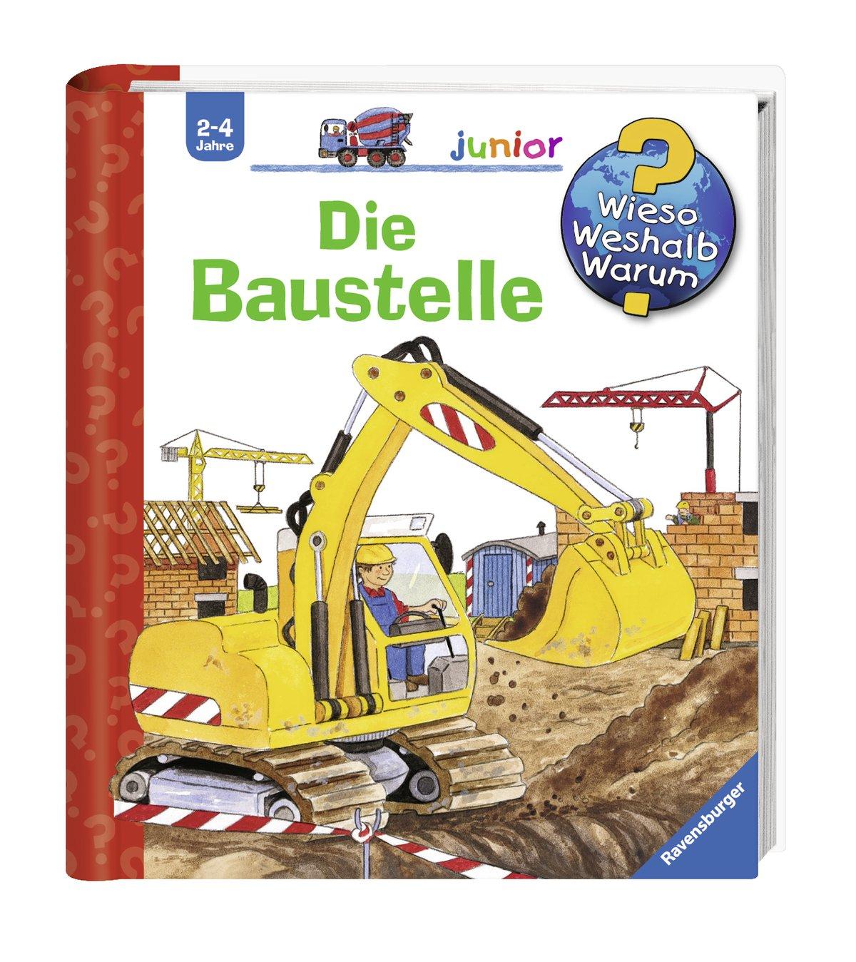 Baustelle zeichnung  Die Baustelle (Wieso? Weshalb? Warum? junior, Band 7): Amazon.de ...