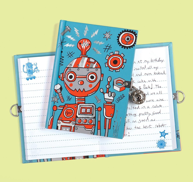 Amazon.com: Mudpuppy Robot Diary: Toys & Games