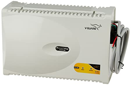 V Guard VG 400 for 1.5 Ton A.C  170V to 270V  Voltage Stabilizer  Grey
