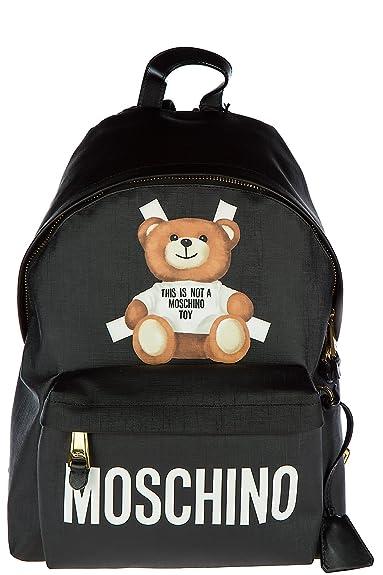 vente chaude en ligne 37bd2 2b603 MOSCHINO sac à dos femme teddy bear noir: Amazon.fr ...