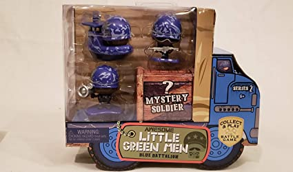 NEW Awesome Little Green Men Battle 4 FIGURES Mystery Soldiers Series 1 Gift #1