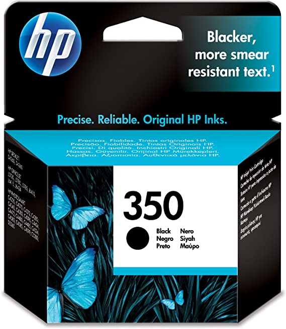 Amazon.com: HP Inc. 350, Negro, 4,5 ml páginas de capacidad ...