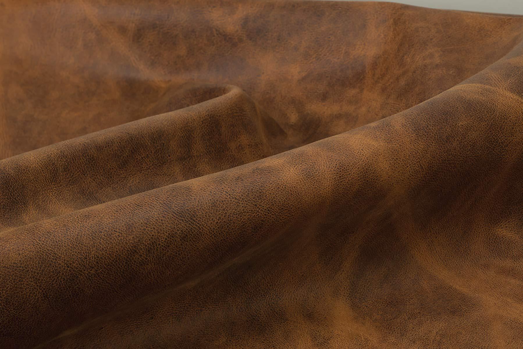 Water Buffalo Leather, Crazy Horse, 4-5 oz.