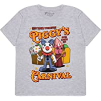 Popgear Piggy Carnival Boys T-Shirt   Official Merchandise   Ages 4-15, Gamer Gifts, Roblox, Boys Fashion Top, Childrens…