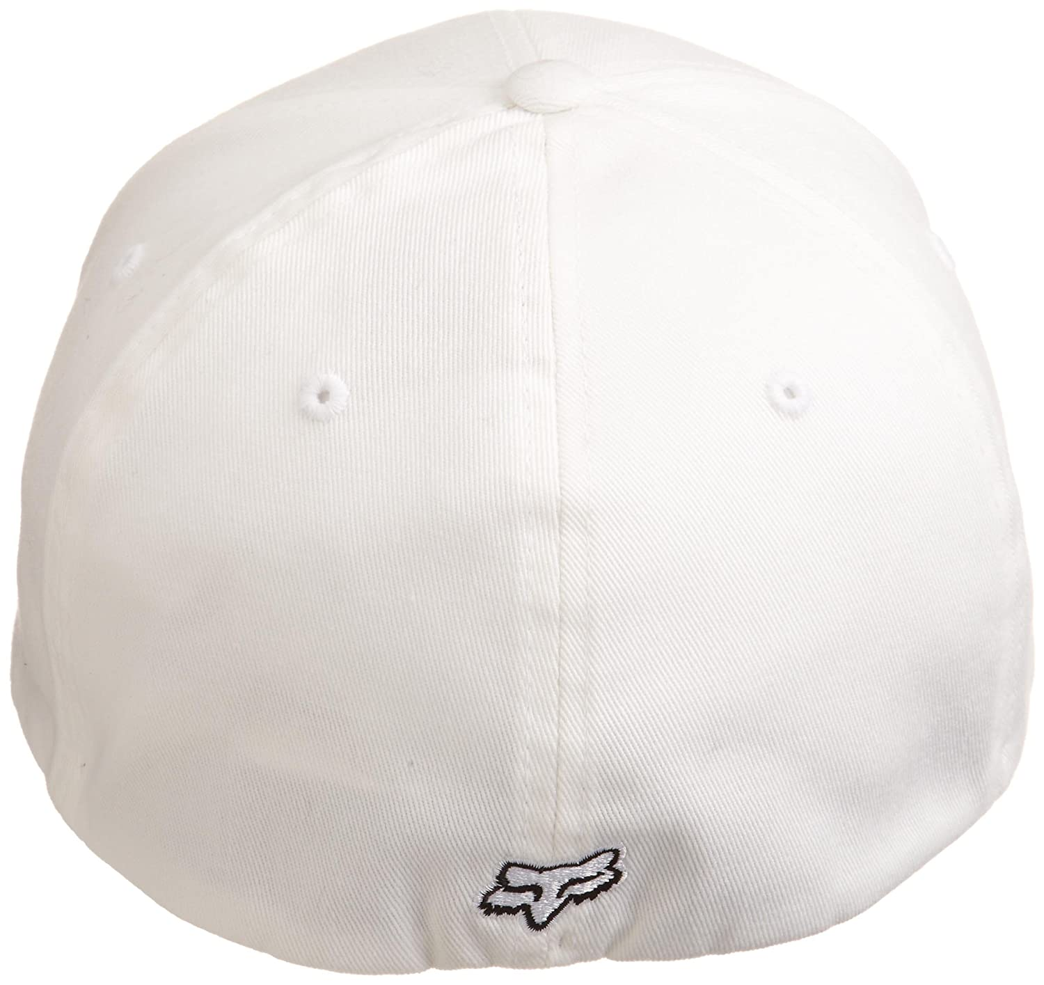 quality design 18677 a5b2b ... spain amazon fox mens flex fit legacy logo hat white2 x large clothing  f8c49 a840d