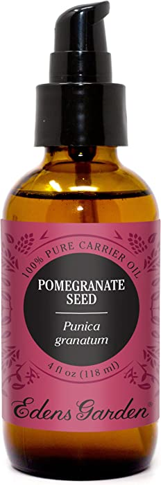 Edens Garden Pomegranate Carrier Oil (Best For Mixing With Essential Oils), 4 oz