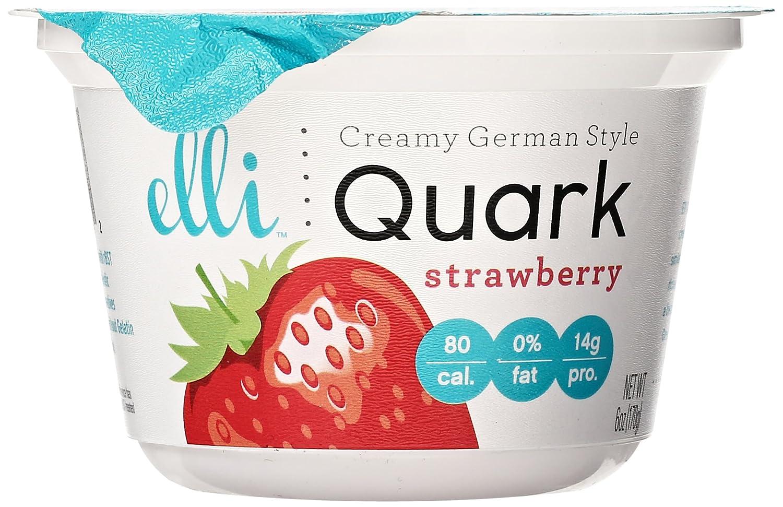 Elli Quark Strawberry Yogurt