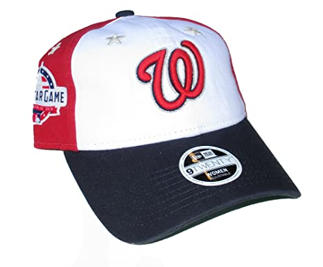 5366f7afd Image Unavailable. Image not available for. Color: Washington Nationals  Women's New Era ...
