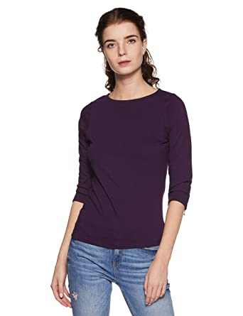 Miss Chase Women's Basic Top Women's Tops at amazon