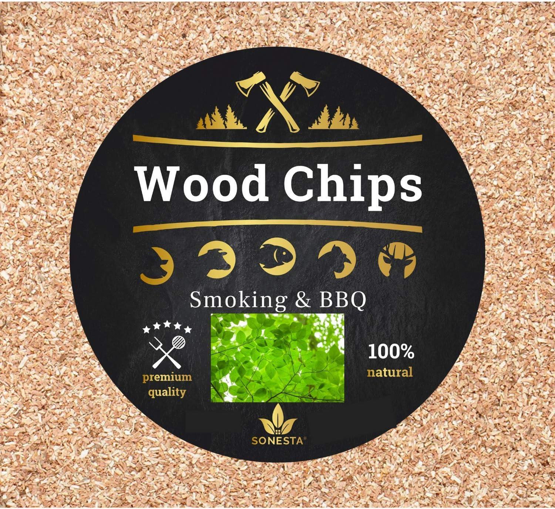 1kg Astillas de Madera para Fumar & Ahumador y Barbacoa | 100% natural de las selvas de Polonia | Virutas ideal para BBQ Landmann, Weber, Barbecook, ahumador cocina, y otros | MEZCLA PROFESIONAL X