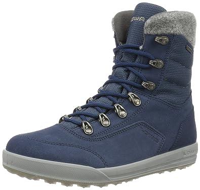 Lowa Kazan GTX, Chaussures de Randonnée Hautes Femme, (Schwarz 0999), 37.5 EU