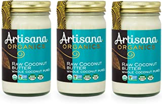 product image for Artisana Organics Non GMO Raw Coconut Butter (3 Pack (14 oz))