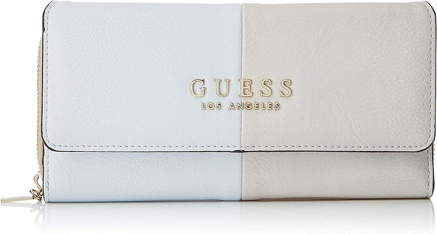 Guess Cary Slg Lrg Clutch Organizer, femme, Multicolore