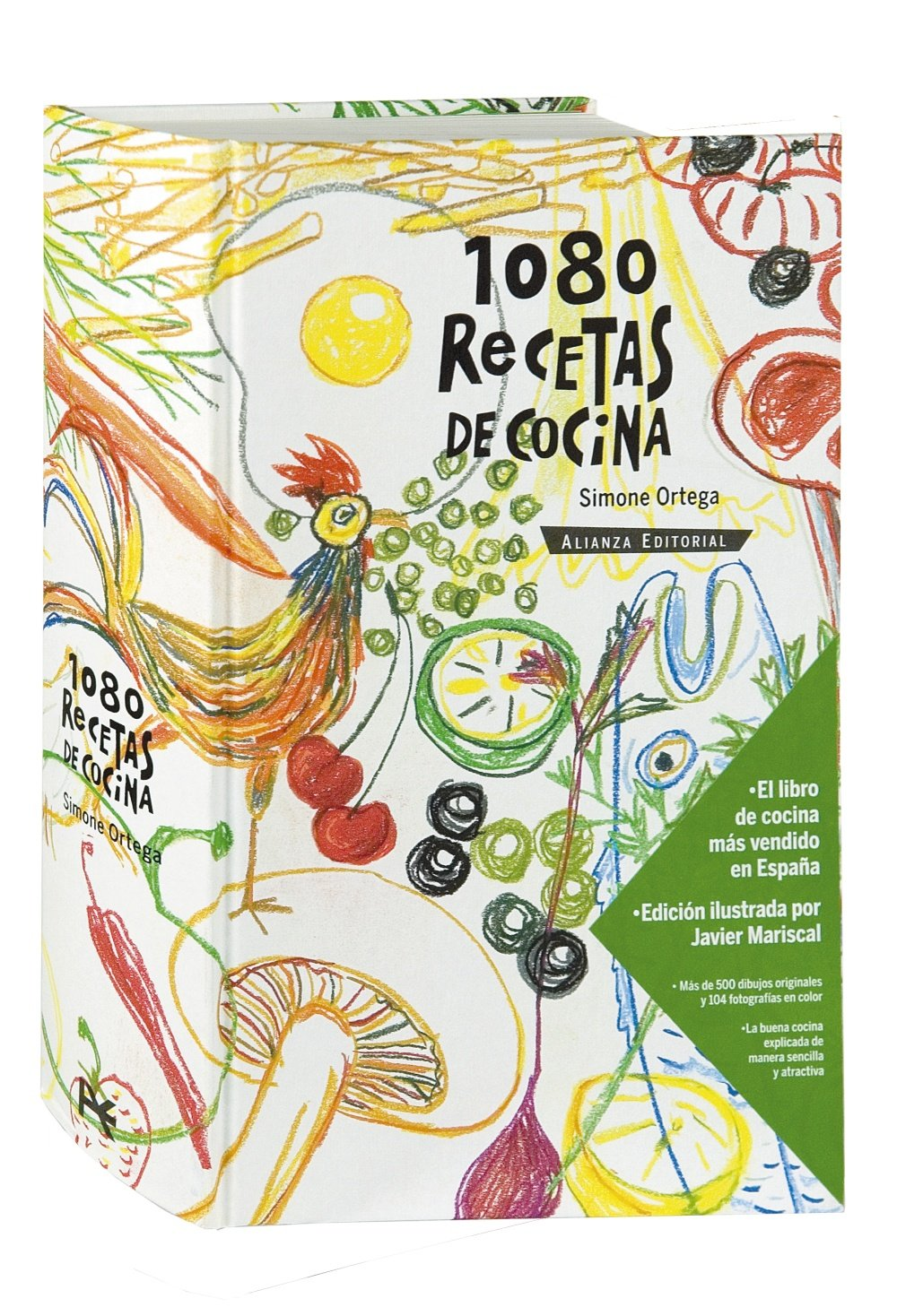 1080 recetas de cocina / 1080 Cooking Recipes (Spanish Edition): Simone  Ortega, Javier Mariscal: 9788420652603: Amazon.com: Books