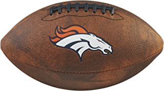 Game Master NFL Denver Broncos Junior Wilson Throwback Football, 11-Inch, Brown