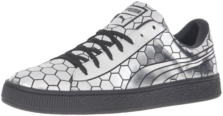 45e2729f3225 PUMA Men s Basket Classic Metallic Fashion Sneaker