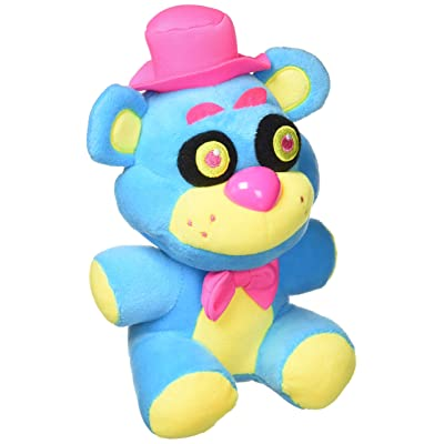 Funko Plush: Five Nights at Freddy's - Freddy Neon Plush Collectible Plush: Toys & Games
