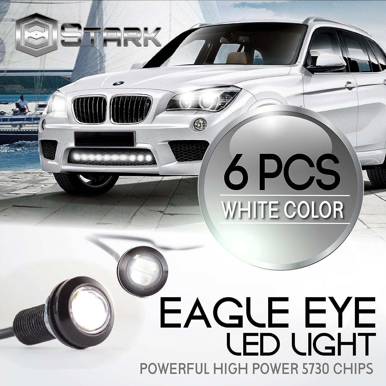Eagle Eye 18mm 5730SMD High Power LED Fog Light DRL Backup Signal Bulbs White 20 Pieces