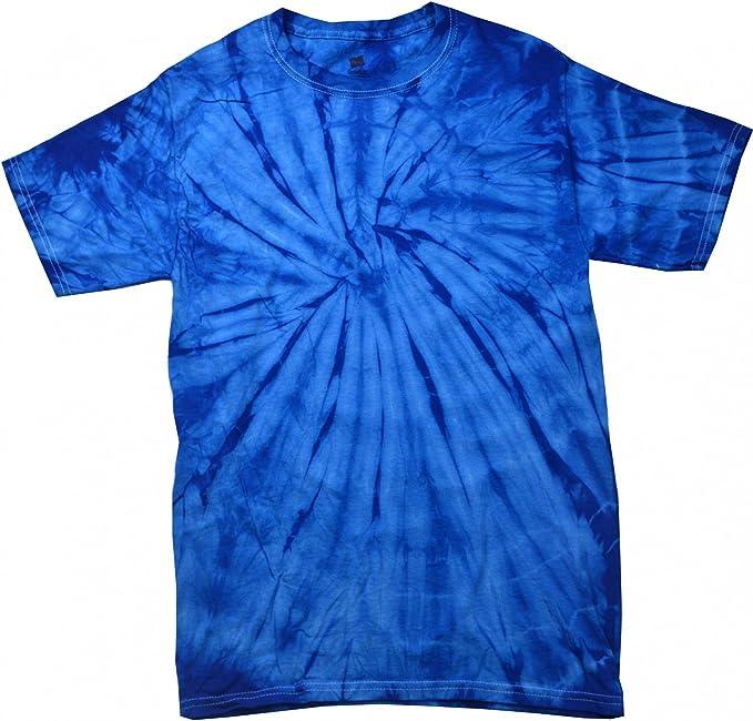 Colortone - Camiseta de Manga Corta psicodélica Unisex Modelo Spider Niños Niñas - Moda/Tendencia/Hippie: Amazon.es: Ropa y accesorios