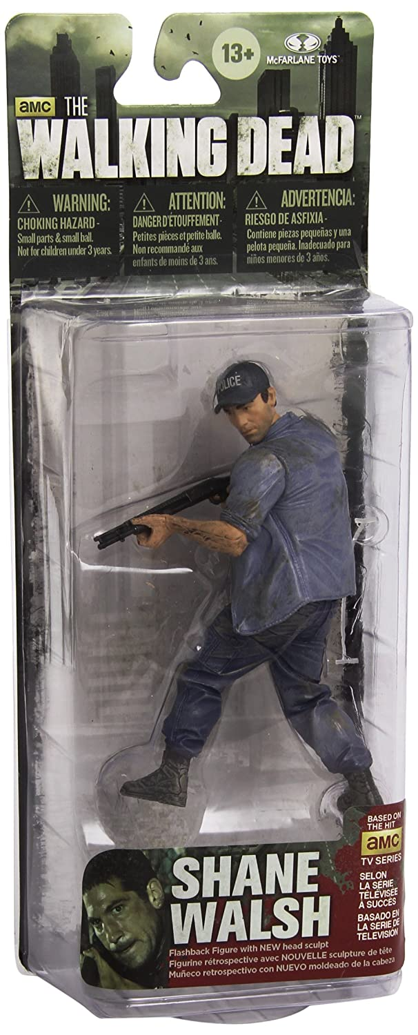 Mcfarlane Toys The Walking Dead Shane Walsh With Baseball Cap Action Figure Action Toy Figures Amazon Canada