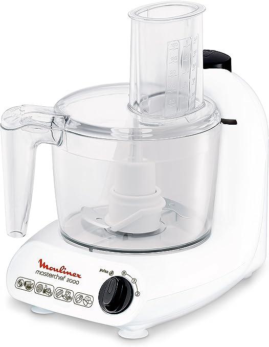 Moulinex FP211110 - robot de cocina, 500 W, blanco: Amazon.es: Hogar