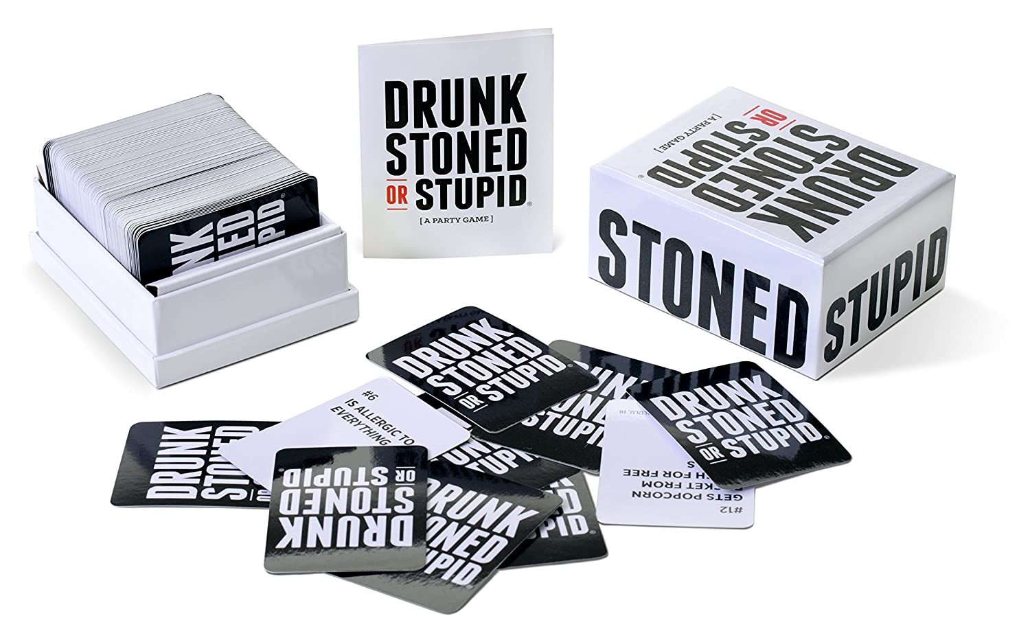 Drunk Stoned or Stupid: A New Party Game