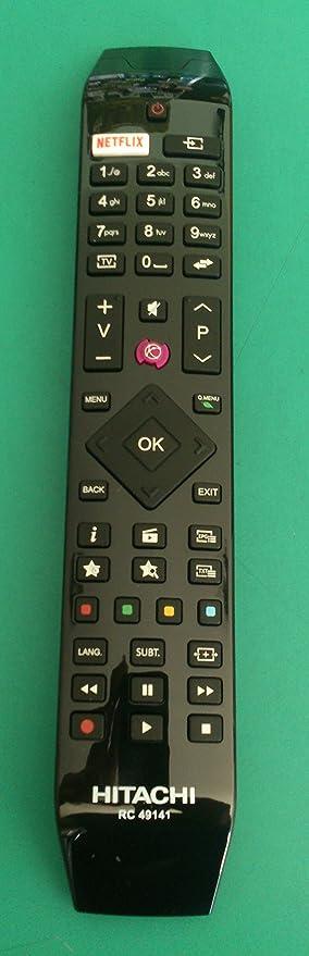 hitachi rc 49141  Telecomando Originale Hitachi RC 49141: : Elettronica
