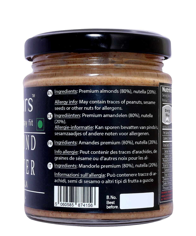 Fitjars - Mantequilla de almendra con Nutella-19,05 oz ...