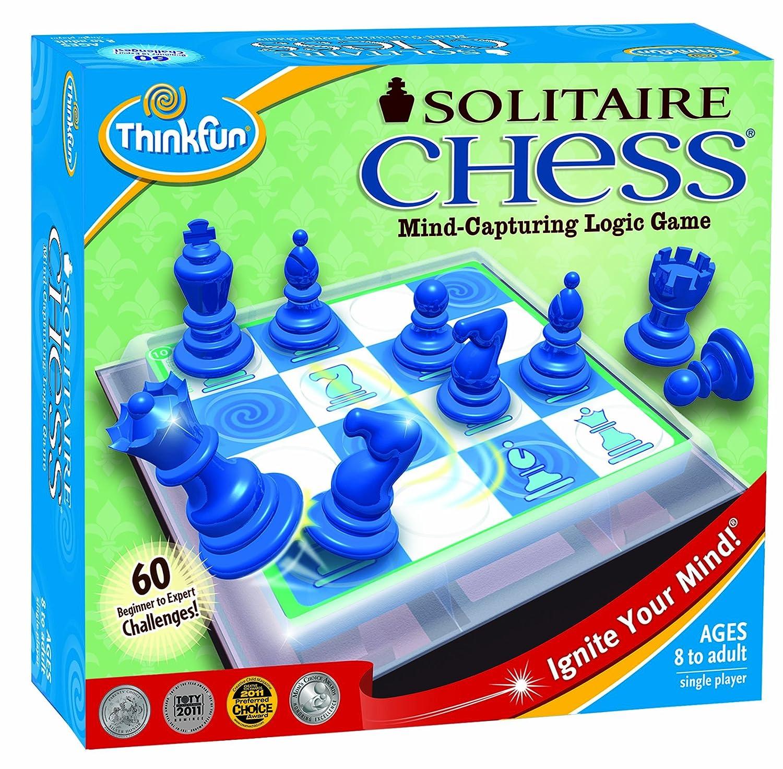Solitaire Juego de ajedrez Importado de Reino Unido