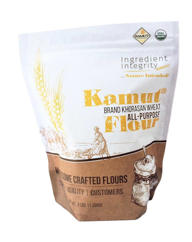 Harina de kamut orgánico para todos los propósitos