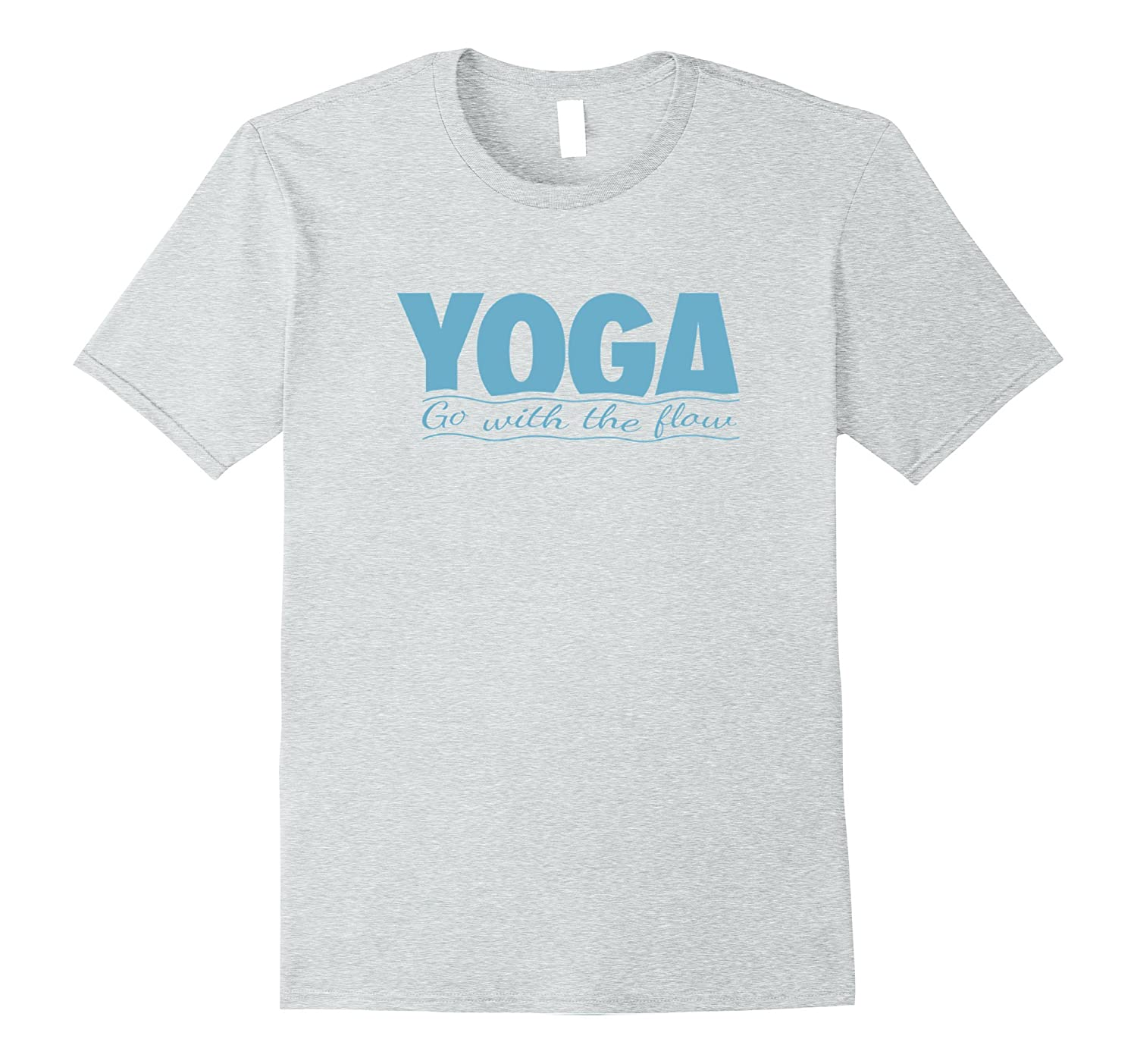 Yoga - Go with the Flow T-Shirt-TH