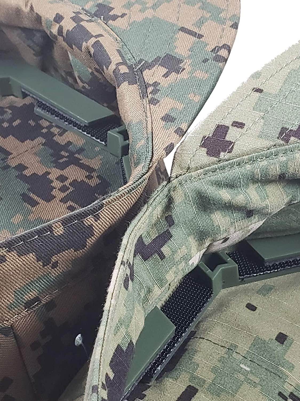 USMC and NAVY Adjustable Military Patrol Cap 8 Point Cover Shaper Insert Digital
