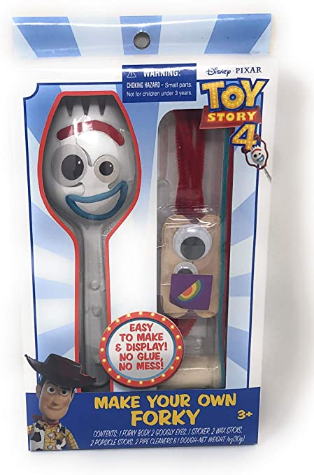 Make Your Own Forky DIY Kit Toy Story 4 Disney