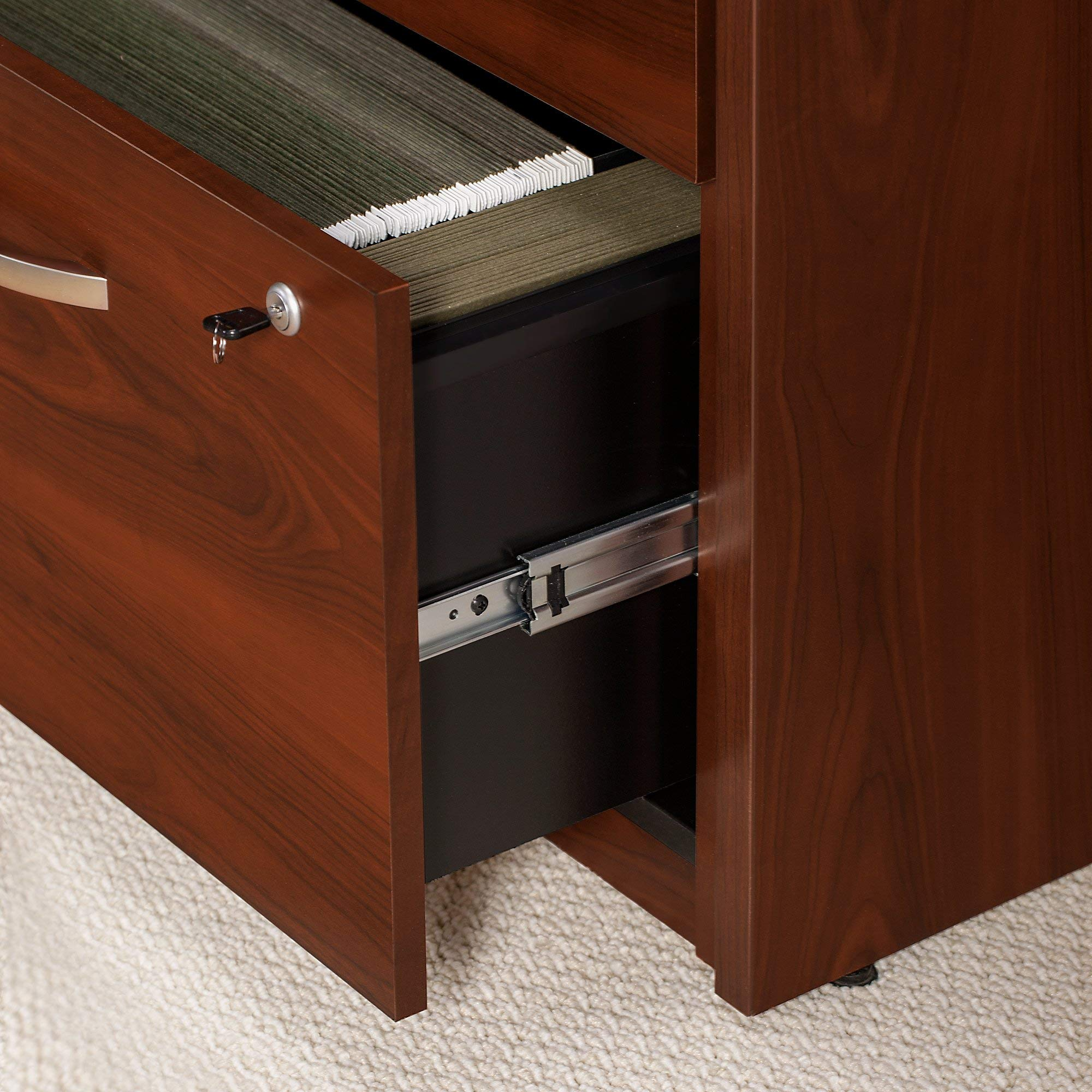 Bush Business Furniture Series C Elite Storage Credenza, Hansen Cherry by Bush Business Furniture (Image #5)