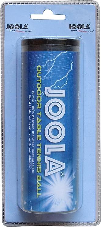 pack de 6 Joola Outdoor 6ER Balles de tennis de table Blanc 40 mm,