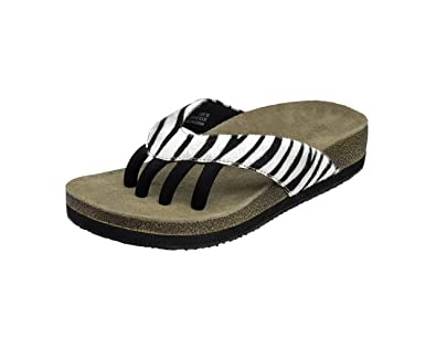 0adb33c2e6cdcf Wellrox Women s Terra-Austin Zebra Casual Sandal 11