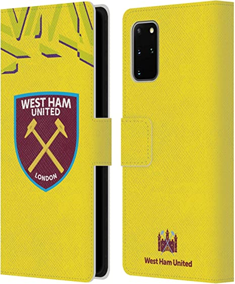 Official Liverpool Football Club Home Goalkeeper 2019//20 Kit PU Leather Book Wallet Case Cover Compatible For Samsung Galaxy Note9 Note 9
